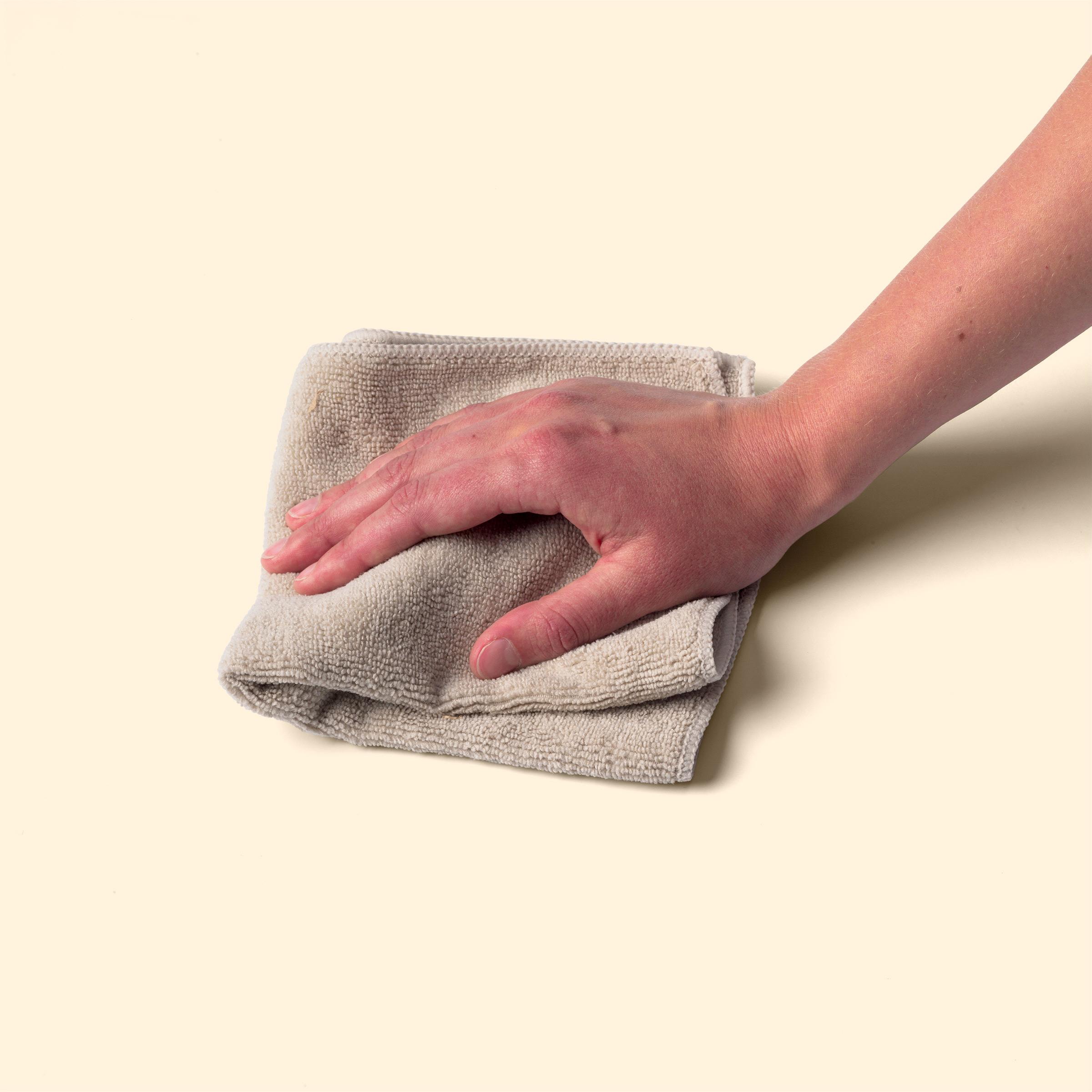 Wipe it.