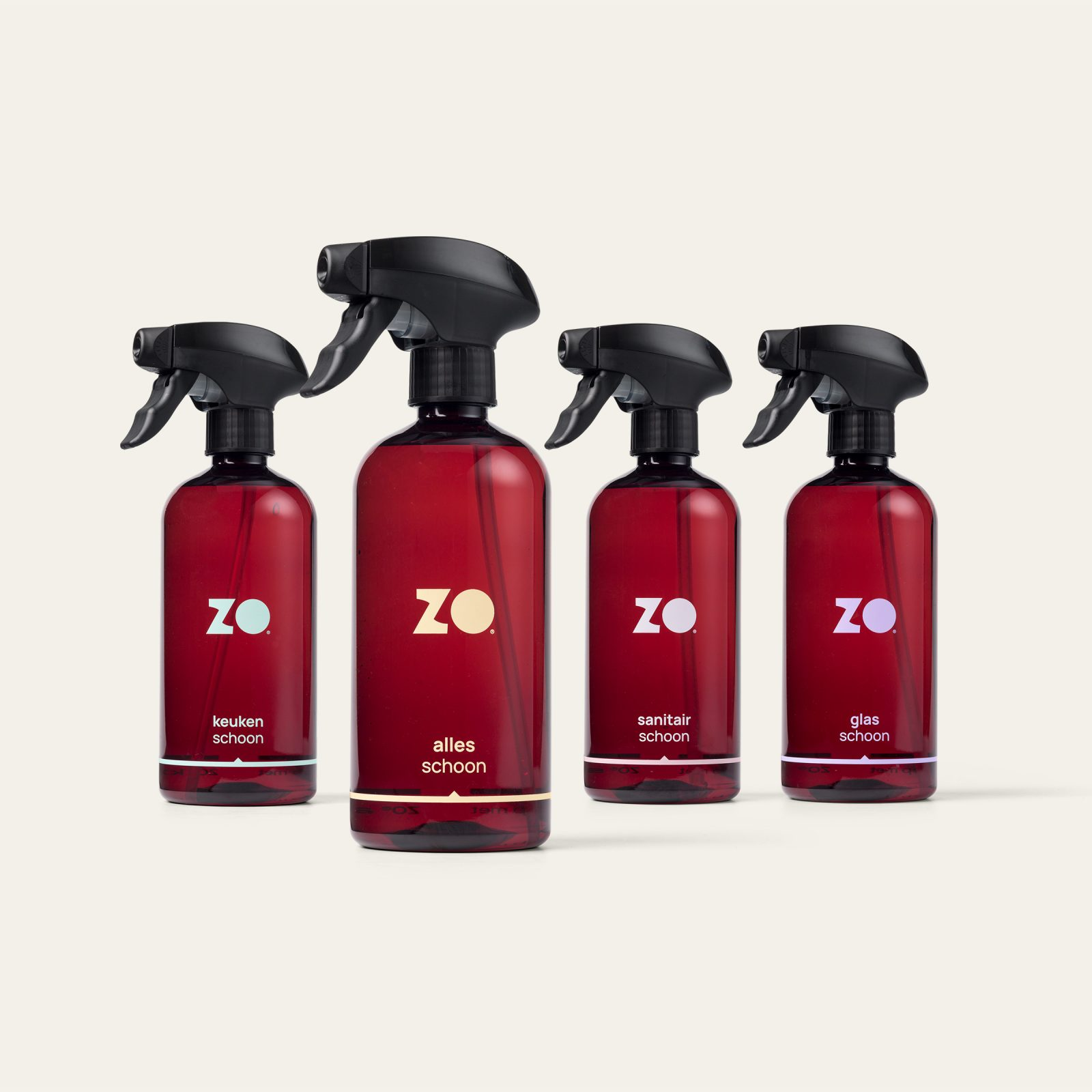 ZO sprayers set van 4